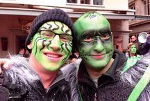 Züri Carneval November 2013 / Züri Carneval November 2013 at Hirschenplatz in Niederdorf Zurich