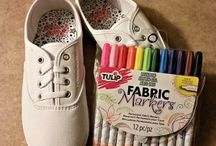 #TRICKYOURKICKS / TRICK YOUR KICKS WITH TULIP FABRIC MARKERS