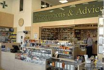 Pharmacy Design - Pharmacy shop - Retail design - Retail Store - pharmacy shelving - pharmacy counters -pharmacy cabinets - pharmacy dispensary / A selection of bespoke made to measure pharmacy counters - pharmacy cabinets - pharmacy shelving - all display fixtures to complete your pharmacy shop. Pharmacy store ideas.