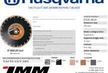 Husqvarna 350mm Asphalt Tacti-Cut S85 Blade