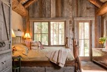 Cabin life / Dream cabins, ideas for furniture and style. Life in a cabin.