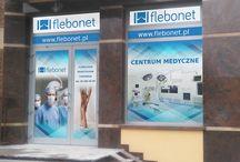 Flebonet Centrum Medyczne / Nasze placówki medyczne w Warszawie, Wrocławiu, Gdyni, Olsztynie, Gliwicach