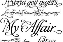 Pretty fonts for all kinds of things! :)