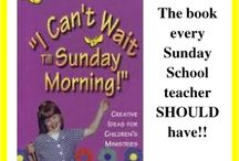 """Sunday School Resource Books / There are so many great Sunday School resource books on the market today. We are indeed blessed to have such creativity in our libraries. This board will showcase some of the children's ministry books that I myself own or would like to own.  (Want to learn more about my ministry, """"The Scripture Lady""""? Then go to www.scripturelady.com)"""