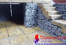 Dungeon Scenery / Dungeon Scenery is new modular terrains with amazing detaily.