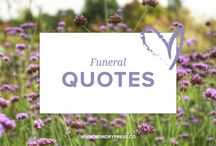 Funeral Quotes / A place to collect short words of wisdom to help guide us in our grieving. Quotes about grief, loss, bereavement and encouragement. Curated by Memory Press, creators of beautiful, uplifting, and memorable Funeral Programs. At Memory Press, we create beautiful, uplifting and memorable programs for funeral and memorial services - fully customised within 24 hours. We collect these quotes about grief and loss as a resource for our clients.
