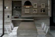 concrete as interior design element