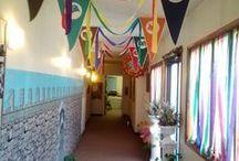 decoracion del pasillo