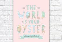 The World is Her Oyster