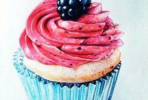muffin disegni