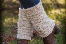 Leg warmers Loom