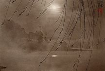 Don Hong Oai and Long Chin-San / (1929 - 2004) His style was influenced by the photographer Long Chin-San's technique of layering negatives. By taking three negatives, foreground, middle ground, and far ground, and selecting a subject from each negative, Don would form one composite image of a serene landscape. All the various scenes in an image existed in reality, but each uniquely handcrafted photograph in its entirety is a concoction of the artist's imagination.
