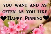 Welcome enjoy pinning