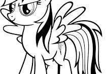 my little pony värityskuvat