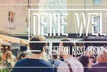 DEINE WELT Food Markt @Praterinsel