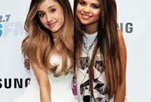 Ariana grande and selena gomez