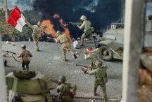 Diorama perjuangan kemerdekaan Indonesia (Scale 1/35 ) / Battle of Surabaya 1945 in 1/35 scale , ANRI museum Jakarta - Indonesia (by ademodelart)
