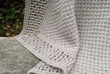 Blanket Designs / Knitting designs for blankets by Karen S. Lauger, Lykkefanten