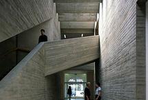 EXTERNAL: CONCRETE / A collection of concrete surfaces - internal and external
