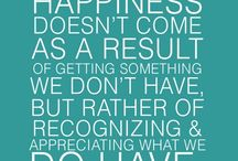 Happiness / by Rebecca Taylor