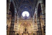 Siena / Siena è universalmente conosciuta per il suo ingente patrimonio storico, artistico, paesaggistico e per la sua sostanziale unità stilistica dell'arredo urbano medievale, nonché per il celebre Palio. Per tali meriti, nel 1995 il suo centro storico è stato insignito dall'UNESCO del titolo di Patrimonio dell'Umanità.
