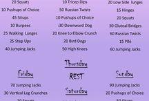 Workout routine!!