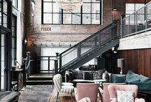 Industrial Bohemain Apartment / Tom and Maddies Inner City Apartment