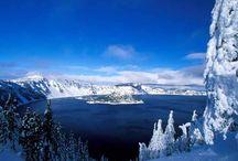 lagos vulcânicos