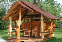 Gazebo Design Ideas / Backyard and Garden Design Ideas for your house, deck, patios and even some with fireplaces.