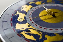 Feel like in Cremona! / 24 hour hand-painted wall clock