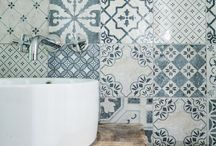 Tile decal and decor
