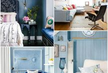 Ideas deco with the blue color 'Serenity' by Pantone