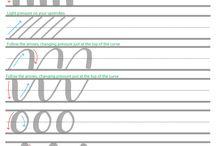 Artsy: hand lettering/ fine liner art / doodles