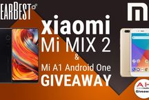 Win A #Xiaomi Mi MIX 2 or Mi A1 With @TheGearbest and @AndroidHeadline http://bit.ly/XiaomiGiveaway #androidheadline #GearBest #Android