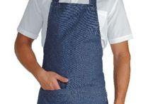 LINEA JEANS / Simpaticissima linea di grembiuli e accessori colore jeans! 100% cotone