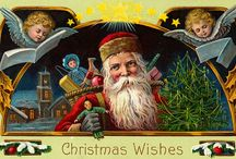 Vintage Christmas Printables / Free printables featuring vintage Christmas images
