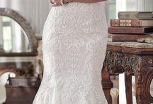 Posering med kjole