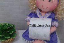 muñecas porta higiénico