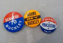 Vintage Jewerly Campaign Buttons Pins / by Vintage House Boutique