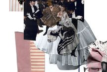 1.Fashion collages/ moodboards
