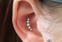 New ear piercings