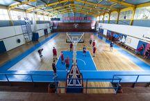 ΓΗΠΕΔΟ ΠΑΝΙΩΝΙΟΥ / Ξύλινο πάτωμα Κολίγας στο κλειστό γήπεδο Πανιωνίου. www.koligas.gr