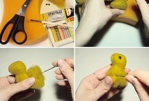 Войлочные игрушки