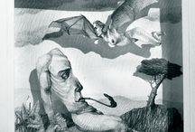 Maurizio Quarello / Quando illustrazioni straordinarie formano un binomio perfetto con l'arte del Pop up. Illustrazioni di Maurizio Quarello pop up maker Luigia Giovannangelo