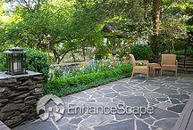 Garden backyard designs / by Cheryl Yacovoni