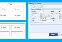 Work with table / How to work with table in your e-shop or website we show you at: http://www.bizwebs.com/a/661