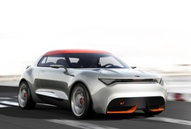 """Kia Provo / At the 2013 Geneva Auto Show, Kia unveiled an all-new concept car called the Provo, which they say is a template for a future compact hatchback specifically designed for enthusiasts. The new Provo Concept dons some athletic looking sheetmetal with wide tracks, giving it sort of a """"stanced"""" look."""