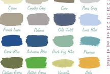 Paint Colors / by Marcy @ ANTIQUECHASE