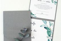eukaliptus zaproszenie