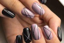 осень ногти